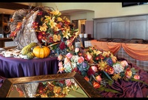 Thanksgiving and Fall arrangements / Florals to celebrate Autumn and Thansgiving