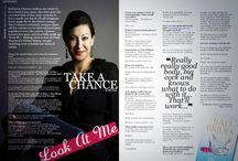 Rebecca in the media! / Interviews with Rebecca Chance.
