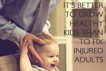 Chiropractic Care / Natural healthcare; treating the whole person and the root of the problem, not just the symptoms.