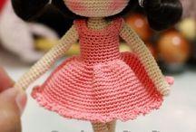 куклы игрушки амигуруми