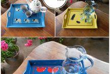 TRAYS: Handcrafted Gifts / Trays; Handcrafted Gifts; Handmade in Kenya