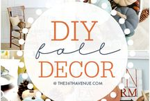 Fall / Organizing, Cleaning, with a splash of home decor tips and tricks