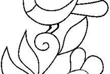 patronen en diversen / keramiek