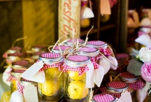 Wedding - K and M / Event design and inspiration for a rustic wedding in a historic airplane hangar