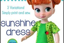 Animator Doll Clothing and Patterns
