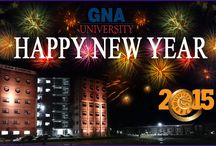 "GNA University Wishing you all ""HAPPY NEW YEAR 2015"" / GNA University Wishing you all ""HAPPY NEW YEAR 2015"""
