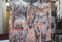 BORONDO by WIDEWALLS / Borondo is a Spanish street artist whose technique of scratched glass became the inseparable form of his personal and original language.