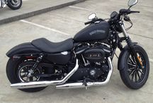 Sportster Iron 883 / The Love for Harley Davidson Sportsters / by Seville