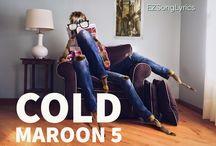 Maroon 5 Pop Song Lyrics