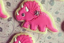 Perníčky-dinosauříci