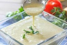 Sauces or dressings