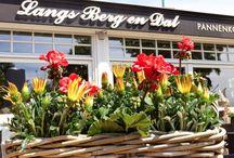 Inrichting restaurant / Over de inrichting van Langs Berg en Dal
