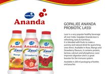 Ananda Lassi / Ananda Lassi is a delicious, low fat and refreshing cool drink that makes you feel fresh & improves the digestive system.