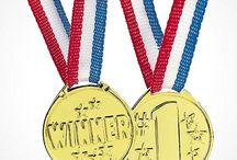 Mom of the Year Olympics / Four years is a long time to wait to see our most accomplished athletes. Use these ideas for food, parties, kids' activities and learning to go for the gold and cheer on Team USA! / by The Mom of the Year