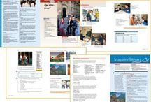 text book layout