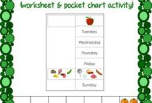 """The Very Hungry Caterpillar / Ideas for classroom activities based on the book """"The Very Hungry Caterpillar.""""  Some pins may contain activities that are not appropriate for children under 2 1/2 years old."""