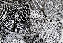 Zentangle / a very unusual type of art I just discovered!!  Fancy doodling!!