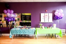 Parties at The Paint Bar. / The Paint Bar is perfect for birthday parties, corporate events, bachelorette parties, bridal and baby showers, anniversary parties, team building events, fundraisers and more! Here are some ideas to plan your party with!