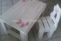 chaise et table enfants