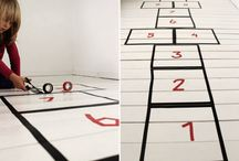 tape art / So simple, so tactile, so creative