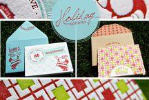 Holiday Stationery / by Adori Designs