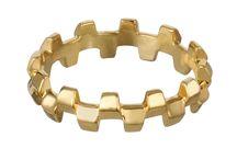 Rings / Rings by British jewellery designer Alice Menter.