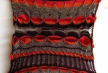 Machine Knitting Samples / Machine knitted designs, samples.