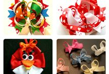 Hair Accessories / headbands, flowers, crowns, bows, clips, and more!