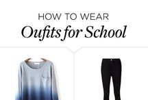 #HOW TO WEAR..... / A lot how to wear