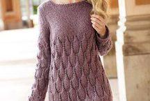 vestidos em tricot