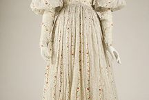 19c. printed cotton dress