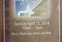 Brookdale Guitar Show / These are some pics of the sites as sounds spotted by GuitarStorage.com staff at the Brookdale Guitar Show on 4/13/14.