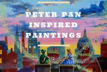 Peter Pan inspired art