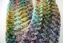 Gabelhäkeln/ Hairpin lace