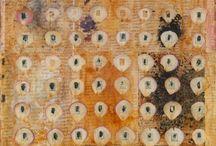 Abstract art textured