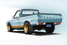 pickup Datsun
