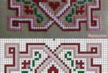 cross stitch (matee cloth )