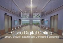 Cisco Design - Smart Room Inspiration / Augmented reality, virtual reality, Internet of Things, big data, voice control, giant touchscreens, gesture control, voice control, robotic assistance, artificial intelligence, sensors, etc, etc, etc.
