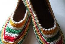 örgü/tığ ayakkabı