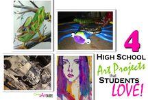 high school art projects