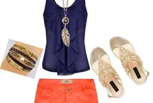 """""""cute summer outfit"""" by christina-ramos ❤ liked on Polyvore"""