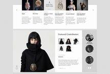 Beautiful web design / Inspirational & functional web design