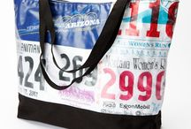 Race bib ideas / Trying to figure out what to do with all of my race bibs - you know I'm never throwing any of them away! / by Caryn Newhall