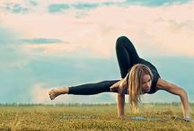 yoga poses to do for- photoshoots! / by Laura Sheppard