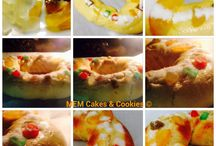 Paso a paso del Roscón de reyes  / www.memcakesandcookies.com