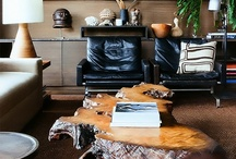West Hollywood Flat / A bachelor pad in West Hollywood, California.