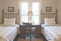 HOME:: guest bedrooms / Rooms with TWIN BED Ideas