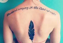 Tattoos / by Tonja Knobel
