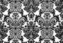 Florence Broadhusrt Sleepwear- Imperial Brocade / Impreial Brocade print on Stretch Satin