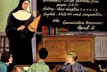 School Comics / by GCD Grand Comics Database